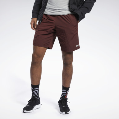 Men Training Brown Training Essentials Utility Shorts