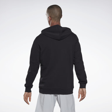 Sudadera Training Essentials Logo Negro Hombre Fitness & Training
