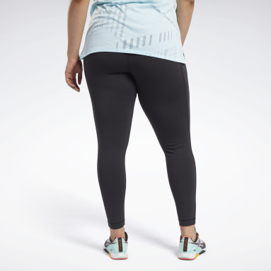 Women Cycling Black Lux High Rise Leggings (Plus Size)