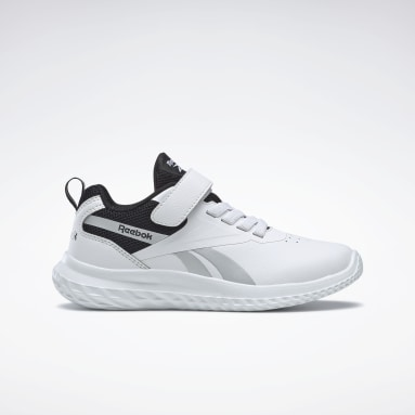 Boys City Outdoor White Reebok Rush Runner 3 Shoes