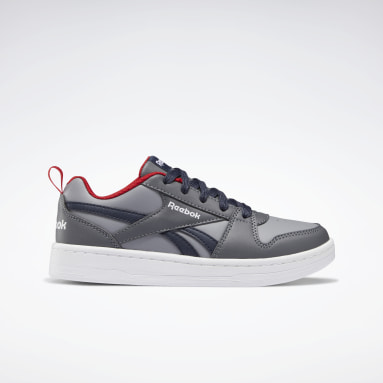 Boys Classics Grey Reebok Royal Prime 2 Shoes