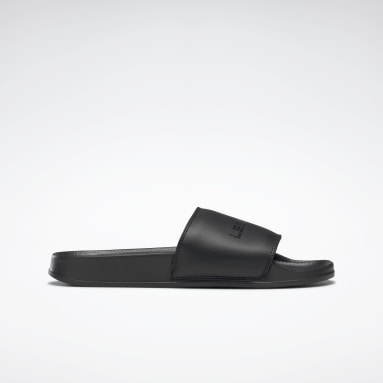 Swimming Black LES MILLS® Classic Slides