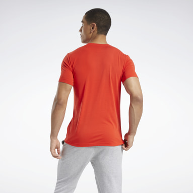 T-shirt Graphic Series Speedwick Rosso Uomo Yoga