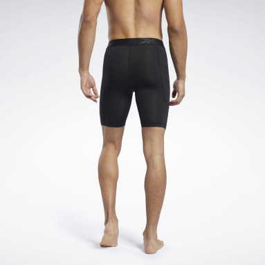 Short de compression Workout Ready Noir Hommes Cyclisme