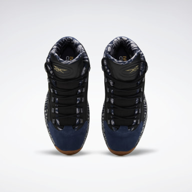 Men Classics Black Question Mid Shoes