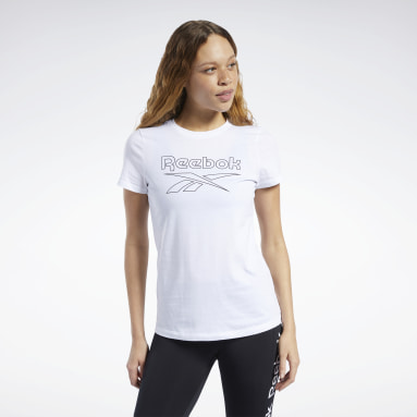Remera Training Essentials Graphic Blanco Mujer Entrenamiento Funcional