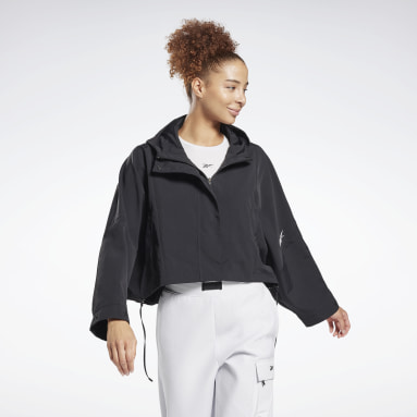 Giacca Layering Woven Nero Donna City Outdoor