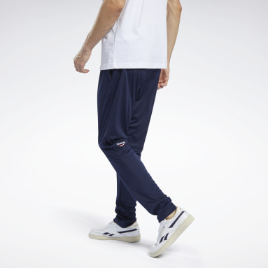 Men Classics Blue Classics Slim Track Pants