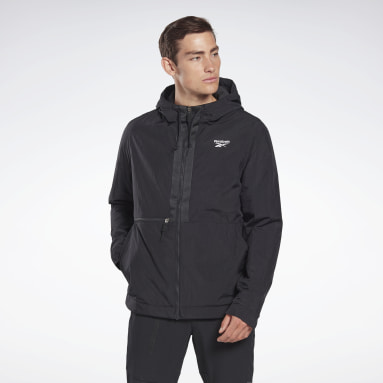 Men Hiking Black Outerwear Core Jacket
