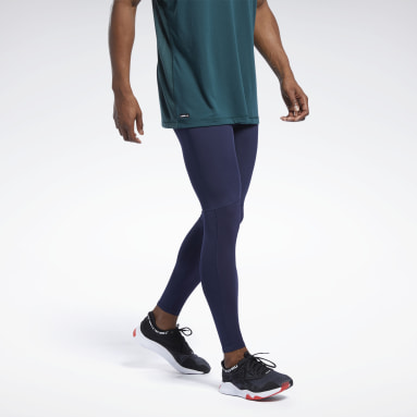 Herr Studio Blå Les Mills® Compression Tights