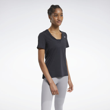 Women Cycling Black ACTIVCHILL Athletic Tee