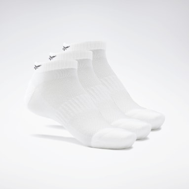 Calcetines tobilleros Active Foundation - Pack de 3 Blanco Fitness & Training
