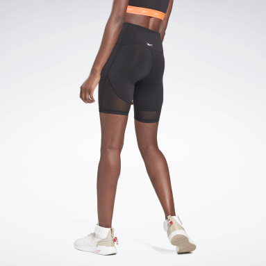 Women Pilates Black Beyond The Sweat Bike Shorts