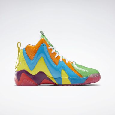 Classics Green Candy Land Kamikaze II Men's Basketball Shoes