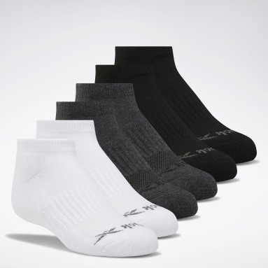 Boys Training Multi Low-Cut Basic Socks Six Pack