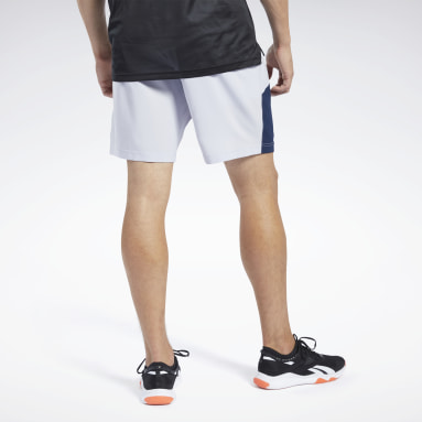 Shorts Workout Ready Graphic Gris Hombre Entrenamiento Funcional
