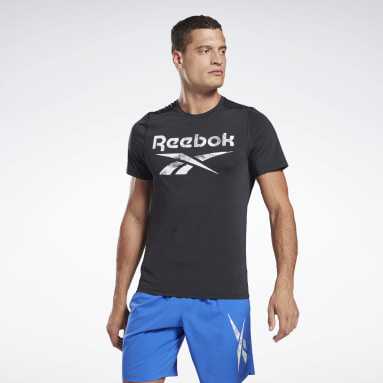 Men Cross Training Black Workout Ready Activchill T-Shirt