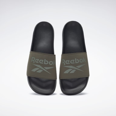 Mænd Swimming Green Reebok Fulgere Slides