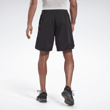 Men Hiking Black Training Essentials Vector Shorts