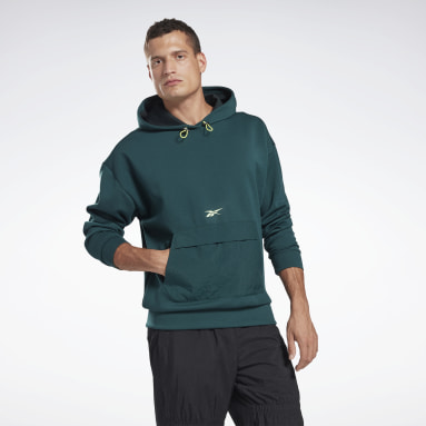 Men Training Green MYT Hoodie