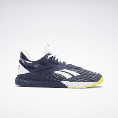 Men Cross Training Blue Reebok Nano X Shoes