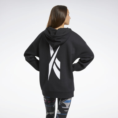Women Fitness & Training Black MYT Fleece Oversize Hoodie