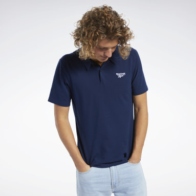 Men Classics Blue Classics Polo Shirt