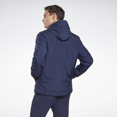 Men Lifestyle Blue Outerwear Core Jacket