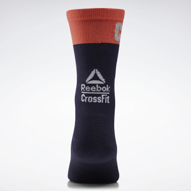 Cross Training Purple CrossFit® Printed Crew Socks
