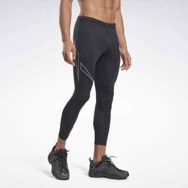 Men Trail Running Run Reflective Vector Tights