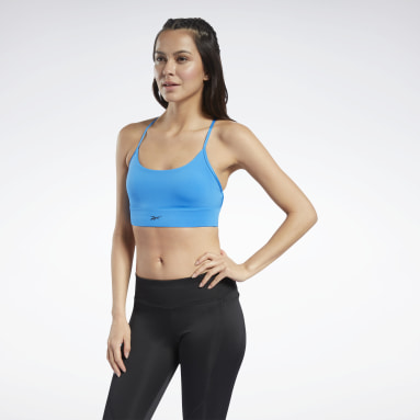 Bra Workout Ready Low-Impact Tri Blu Donna Fitness & Training