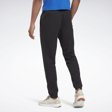 Pantalón Training Essentials Linear Logo Negro Hombre Fitness & Training
