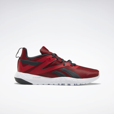 Men Cross Training Red Mega Flexagon Men's Training Shoes