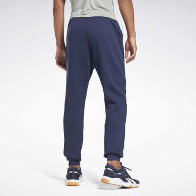 Spodnie Training Essentials Tape Jogger Niebieski