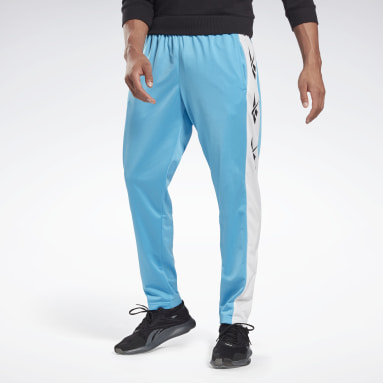 Men Fitness & Training Turquoise Training Essentials Vector Track Pants