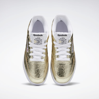 Women Classics Gold Club C Double Women's Shoes