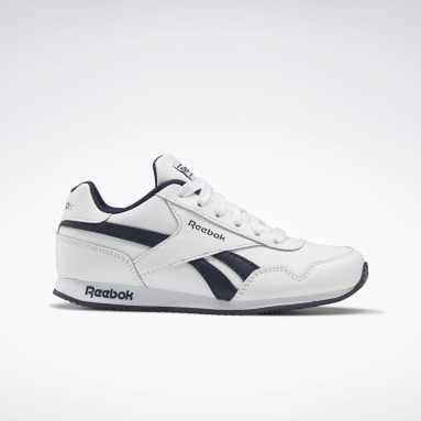 Boys Classics White Reebok Royal Classic Jogger 3 Shoes