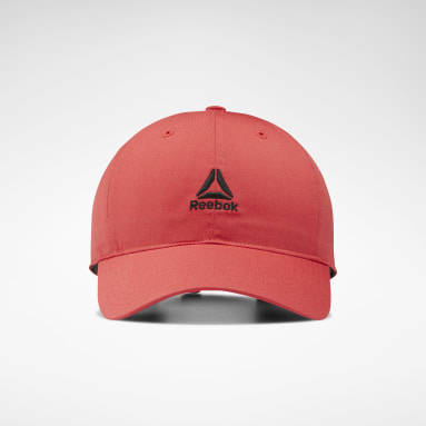Gorra Active Foundation Logo Rojo Hombre Fitness & Training
