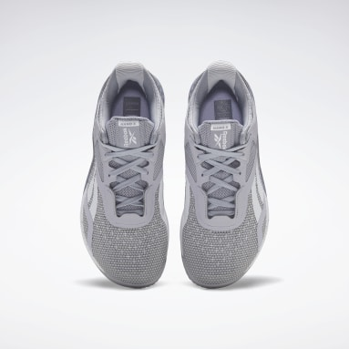 Women Training Grey Reebok Nano X Shoes