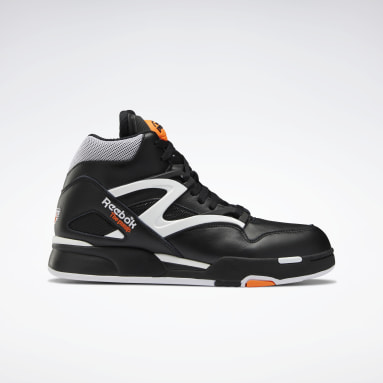 Men Classics Black Pump Omni Zone II Men's Basketball Shoes