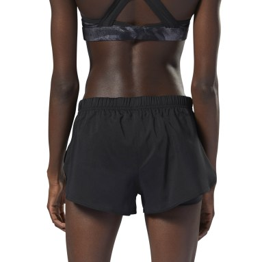 Shorts Running 2-in-1 Negro Mujer Running