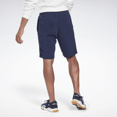 Short Reebok Identity Blu Uomo Fitness & Training