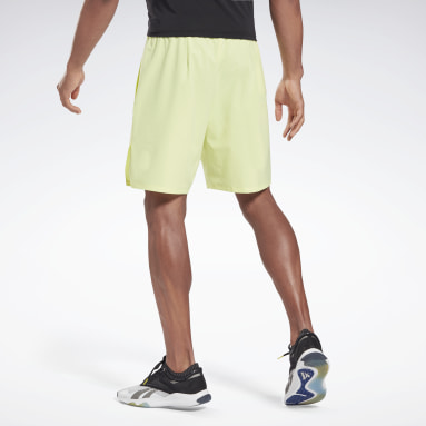 Men Pilates Yellow Les Mills® Epic Shorts