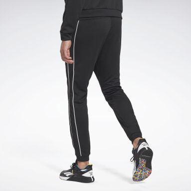 Heren Fitness & Training Zwart Workout Ready Doubleknit Broek