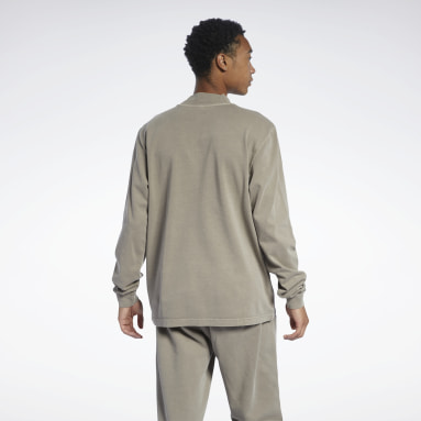 Men Classics Grey Classics Natural Dye Long Sleeve Shirt