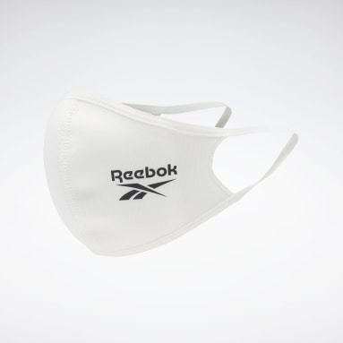 Fitness & Training White Face Covers XS/S 3-Pack