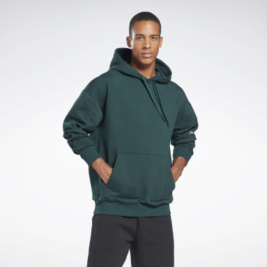 Sudadera DreamBlend Cotton Verde Hombre Fitness & Training