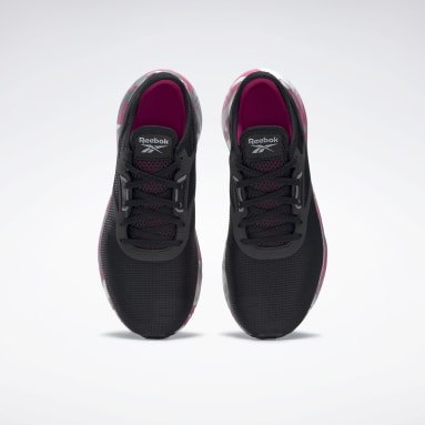 Women Running Black Reebok Flashfilm 3 Women's Running Shoes