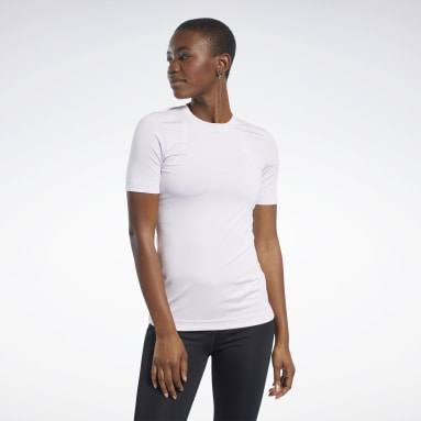 T-shirt Workout Ready Supremium Rosa Donna Fitness & Training