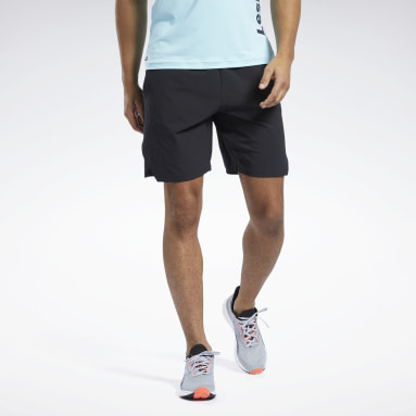 Men Pilates Black Les Mills® Epic Shorts